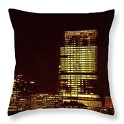 Mke Wi Throw Pillow