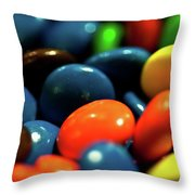 Mmm Chocolate Throw Pillow