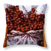 Mmmm Chocolate Throw Pillow