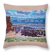 Arches National Park,moab, Utah Throw Pillow