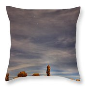 Moab Dipper Throw Pillow