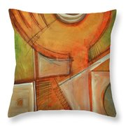 Moanin Throw Pillow