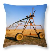 Mobile Irrigation Throw Pillow