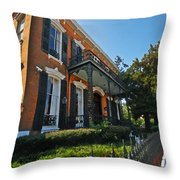 Mobile Law Office Throw Pillow