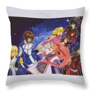 Mobile Suit Gundam Seed Destiny Throw Pillow