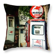 Mobilgas Special Throw Pillow