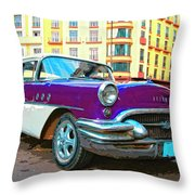 Moby Grape Throw Pillow