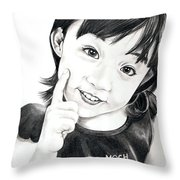 Moch Throw Pillow