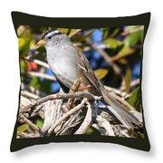 Mockingbird Finally Being Quite Throw Pillow
