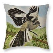 Mockingbird Landing Throw Pillow