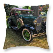 1928 Model A Ford  Throw Pillow