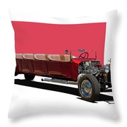 Model A Ford Limousine Throw Pillow