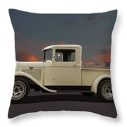 Model A Ford Truck Throw Pillow