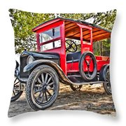 Model T Delivery Throw Pillow