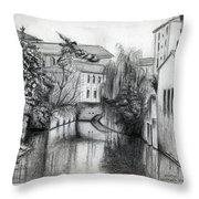 Modena Italy Throw Pillow