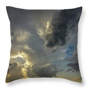 Moderate Risk In South Central Nebraska 010 Throw Pillow