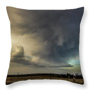 Moderate Risk In South Central Nebraska 012 Throw Pillow