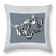 Modern 1102 Throw Pillow