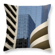 Modern Architecture Throw Pillow