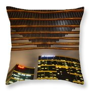 Modern Architecture In Lima Peru Throw Pillow