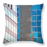 Modern Architecture Photography Throw Pillow