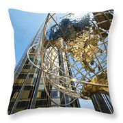 Modern Architecture Throw Pillow