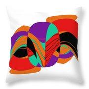 Modern Art 2 Throw Pillow