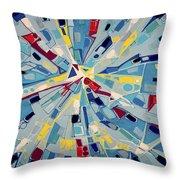 Modern Art One Throw Pillow