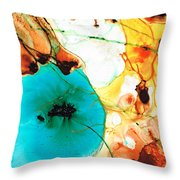 Modern Art - Potential - Sharon Cummings Throw Pillow