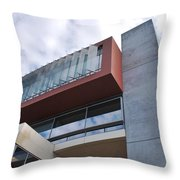 Modern Building Architecture Angles Throw Pillow
