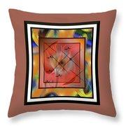 Modern Colours #2 Throw Pillow