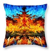 Modern Composition 11 Throw Pillow