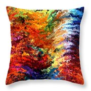 Modern Composition 14 Throw Pillow