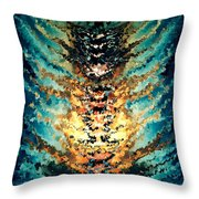 Modern Composition 15 Throw Pillow