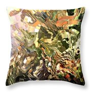 Modern Composition 28 Throw Pillow