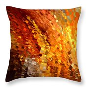 Modern Composition 33 Throw Pillow