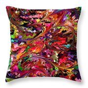 Modern Composition 34 Throw Pillow