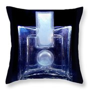 Modern Design Vase Throw Pillow