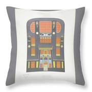 Modern Designs Throw Pillow