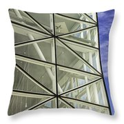 Modern Detail Bright Throw Pillow