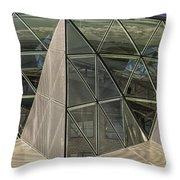 Modern Detail Panorama Throw Pillow