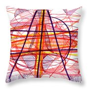 Modern Drawing Eighty-five Throw Pillow