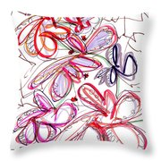 Modern Drawing Fifty-eight Throw Pillow