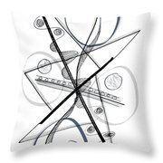 Modern Drawing Forty-eight Throw Pillow