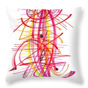 Modern Drawing Forty-five Throw Pillow