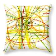 Modern Drawing Thirteen Throw Pillow