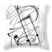 Modern Drawing Thirty-eight Throw Pillow