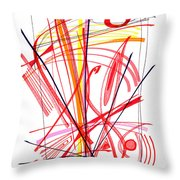 Modern Drawing Thirty-nine Throw Pillow