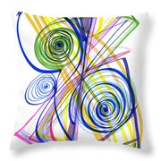 Modern Drawing Thirty-seven Throw Pillow