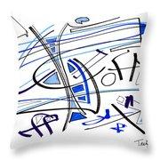 Modern Drawing Twenty-seven Throw Pillow